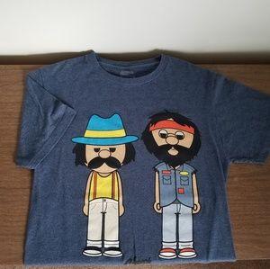 NWOT_Cheech & Chong Cartoon T-shirt